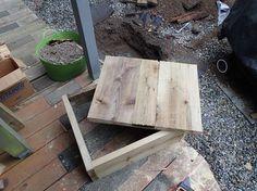 diy wooden septic tank riser cover