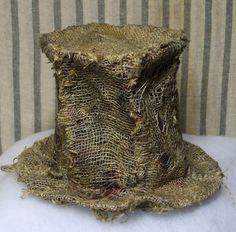 VooDoo Hat -burlap
