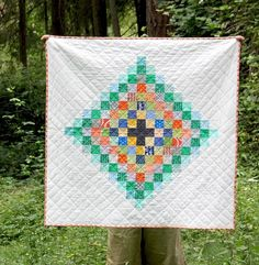 Chippewa Quilt - scrappy free pattern from Cluck Cluck Sew