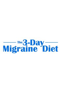 It's finally here. The 3-Day Migraine Diet unveils studies with complete migraine remission, in as little as three days. It is the first diet that adequately details the top migraine triggers and prevention nutrients. It's online. It's free. http://3dayheadachecure.com/3-day-migraine-diet/