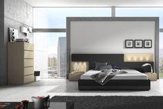 DORMITORIO 5. Dormitorio modular de 286 cm de ancho.