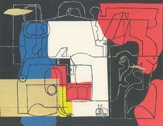 Fondation Le Corbusier - Engraving - Bouteille