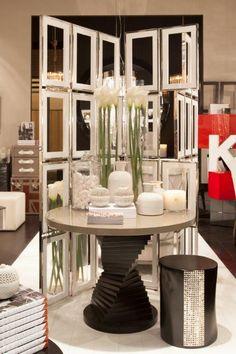 Kelly Hoppen @ Maison Objet January 2013 Love the table for the living room