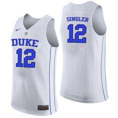 606f9e1b1 Men #12 Kyle Singler Duke Blue Devils College Basketball Jerseys-White  Jordan Tucker,