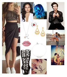 """""""🙊Roxanne🙊 Goes on a day with Devon after Fastlane (WWE)"""" by serenamarie273 on Polyvore featuring Bling Jewelry, Latelita, Dsquared2 and Lime Crime"""
