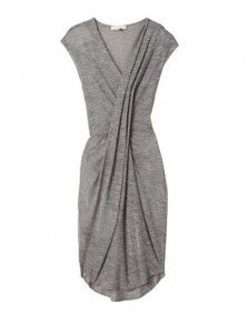 A gray dress by Rebecca Taylor, a blank canvass for accessories!