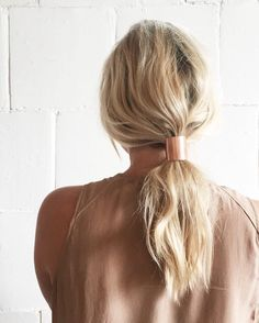 Kaoelika hair ties by  @earthen_studio