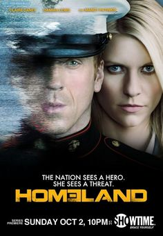Homeland - you had me at Damien Lewis (& Mandy Patinkin) - great show & Claire Danes does a great job in this, too.
