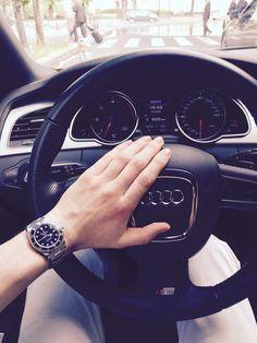 Audi and Rolex