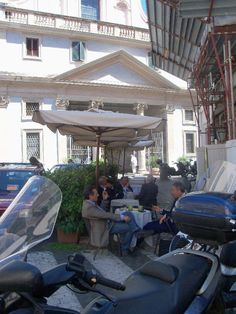 Enjoying un caffè in Rome. Rome Street Style, Italian Street, Italian Men, Gazebo, Valentino, Victoria, Outdoor Structures, Italy, Outdoor Decor