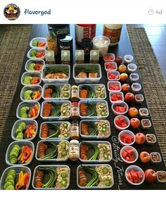 Fitness meal prep.... shout out to flavor gods paleo spices!