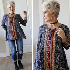 Feeling the boho-CHIC-ness vibes for this Wednesday, thanks to NEST BOUTIQUE…..the sweetest little boutique in town! Nest Boutique is here. And this peasant top is here. It required a leather choker,