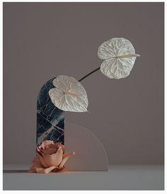 We already show here in Design Gallerist some cool projects today we bring 'Digibana' a digitally rendered Ikebana created by Studio Brasch. Ikebana, Flower Studio, Flower Art, Flower Bomb, Blue Orchids, Love Flowers, Art Direction, Still Life, Flower Power