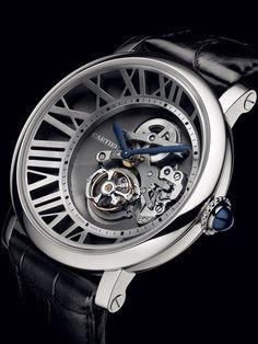 Cartier - Rotonde de Cartier Minute Repeater Flying Tourbillon