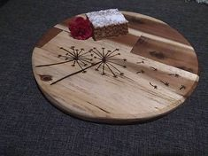 Svatava / Agátové denko Wood Crafts, Leather, Handmade, Home Decor, Hand Made, Decoration Home, Room Decor, Wood Turning, Craft