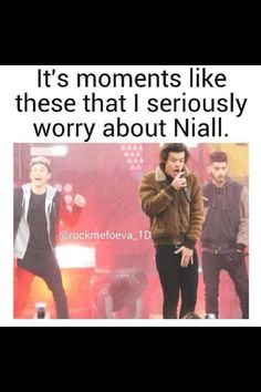 Oh Niall ...