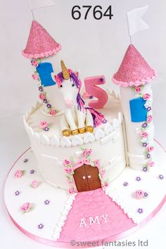 Girls Birthday Cake - sweet fantasies cakes - Stoke-on-Trent