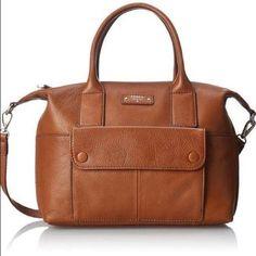 "Fossil Blake Satchel Shoulder Bag NWT Brand new. Gorgeous camel, genuine leather Fossil bag. 10x11"" Issue No. 1954 Fossil Bags Shoulder Bags"