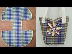 #DIY cute bags|tutorial from scratch|คลิปสั้น|รัชนี งานผ้า handmade - YouTube