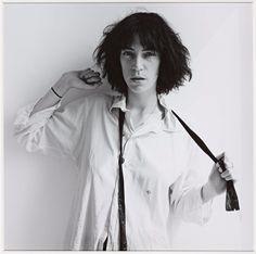 Patti Smith inspires androgyny