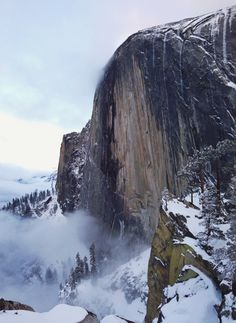 The Diving Board on Half Dome by Project Yosemite