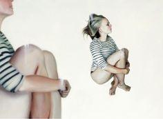 Dream like paintings by Henrik Aarrestad Uldalen