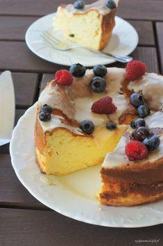 Puszysty sernik z pomarańczą – Najlepsze Smakołyki Cheesecake, Cooking Recipes, Food, Drink, Orange, Sweet Like Candy, Kuchen, Beverage, Cheesecakes