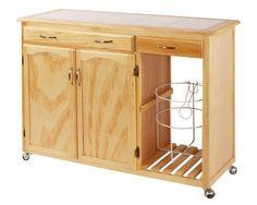 Mesa para Microondas Multiusos con 2 puertas | Coppel