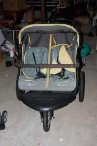 jogging stroller - $100 (Cary)