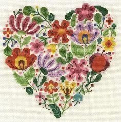 Buy+Bouquet+of+Love+Cross+Stitch+Kit+Online+at+www.sewandso.co.uk