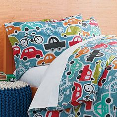 Cars Percale Bedding | Company Kids