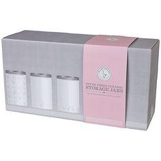 Buy Mary Berry Storage Jars, Set of 3 Online at johnlewis.com