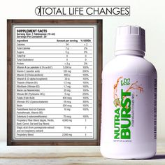 NutraBurst from Total Life Changes - A product that works!  Liquid vitamins are the best!!