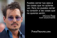 Frases de Johnny Depp - Frases del Corazón - Frase Famosa
