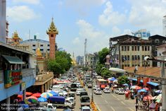 Yangon, Myanmar, formerly known as Rangoon, Burma, is the former capital of Myanmar and the largest city in the country