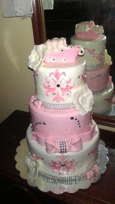 Babyshower cake by Blairs custom cakes.