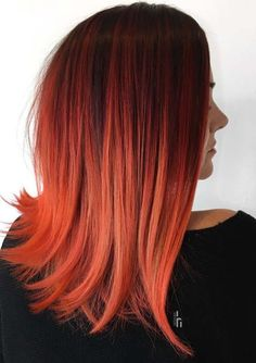 Rote Haarfarbe Ideen, die Sie heute ausprobieren müssen # anprobiere… Red hair color Ideas to try today # colour try on … – Hair Color – on out Red Ombre Hair, Ombre Hair Color, Hair Colors, Straight Hairstyles, Cool Hairstyles, Braided Hairstyles, Wedding Hairstyles, Fire Hair, Natural Wavy Hair
