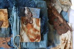 Natalie Magnin - Zamirte Textiles - Textile and Fiber Art: rust dyeing & indigo Coffee Liqueur Recipe, Textiles Sketchbook, Textile Dyeing, Shibori Tie Dye, How To Dye Fabric, Surface Design, Fiber Art, Indigo, Prints