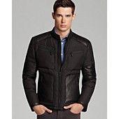 Andrew Marc Noble Moto Jacket