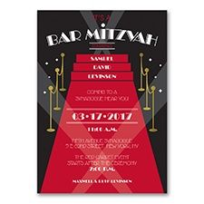 Red Carpet Event - Bar  or Bat Mitzvah Club Themes are still going strong! www.dmeventsanddesign.com