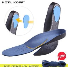 4ec464eb74 Adult Orthotic insoles Breathable 3D Comfortable EVA insoles Flat Feet Arch  Support insoles orthopedic Sweat-