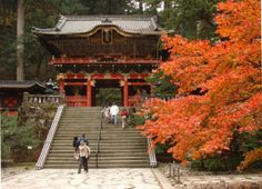 temple gate Nikko Japan