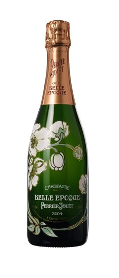 Perrier-Jouet flowers (because,  honestly,  when will I be able to afford this wine?)