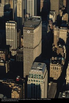 NYC. Manhattan. Met Life Building. // Taringa!