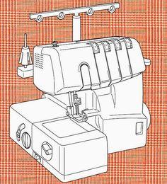 remalladora overlock domestica