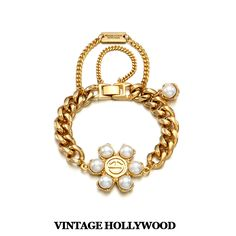 Bubble Nut Bracelet by Vintage Hollywood