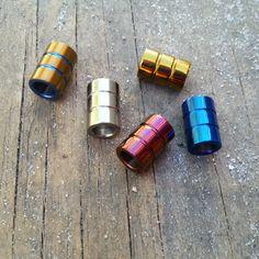 TiSurvival Titanium Lanyard Bead by TiSurvival on Etsy