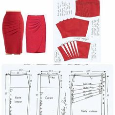 Amazing Sewing Patterns Clone Your Clothes Ideas. Enchanting Sewing Patterns Clone Your Clothes Ideas. Japanese Sewing Patterns, Skirt Patterns Sewing, Vintage Sewing Patterns, Clothing Patterns, Shirt Patterns, Pattern Sewing, Women's Clothing, Sewing Clothes, Diy Clothes