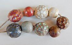9 Beads . By Mª carmen Rodriguez ( Majoyoal ) https://www.facebook.com/groups/CeramicArtBeadMarket/