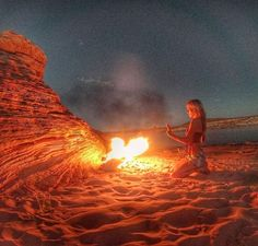 Make sure to buy fire wood, fire starter log, a flame thrower, and then find twigs and stuff to actually get it going. Solo Camping, Antelope Island, Fire Wood, Lake Powell, Camping Checklist, Fire Starters, Travel Articles, Paddle Boarding, Solo Travel